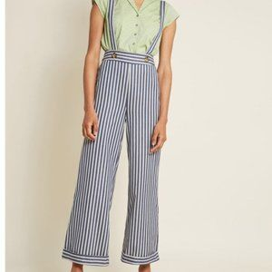 Hello, Halifax High-Waisted Striped Jeans Size 4X